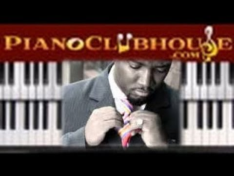 "♫ How to play ""MY HANDS ARE LIFTED UP"" by Benjamin Cole III (piano tutorial lesson)"