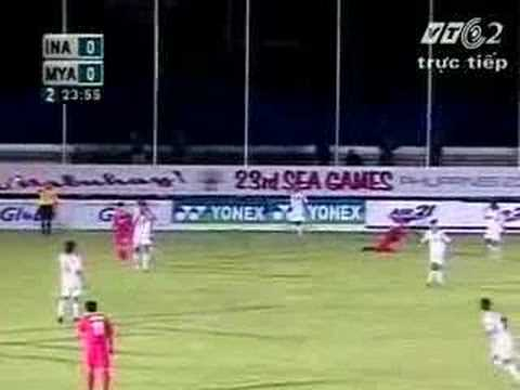 23rd sea games - Myanmar Vs Indonesia (2nd half)