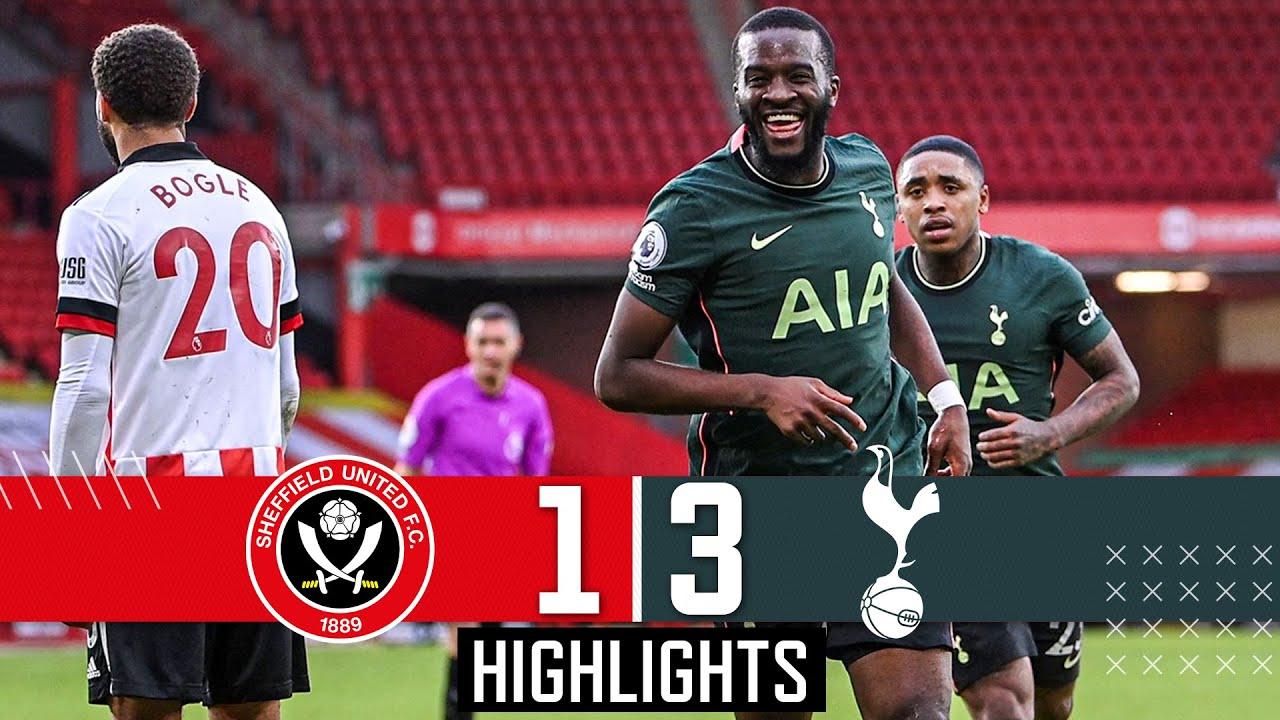 Sheffield United 1 3 Spurs Premier League Highlights Ndombele Wonder Goal Kane Aurier Strike Youtube