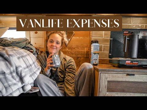 VanLife EXPENSES | How much does it REALLY cost?