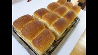 탕종법으로 쌀베이킹 미니식빵만들기