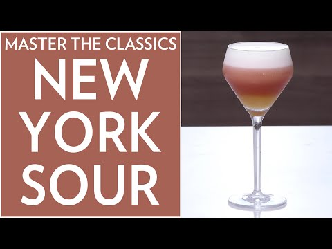 Master The Classics: New York Sour