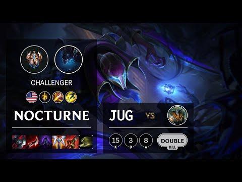 Nocturne Jungle vs Olaf - NA Challenger Patch 10.16