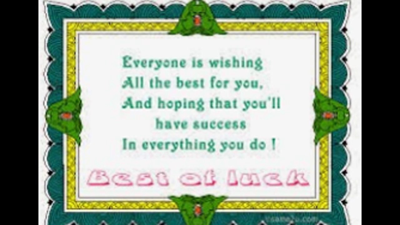 best of luck images with quotesbest wishes for exams good luck sms best wishes good luck