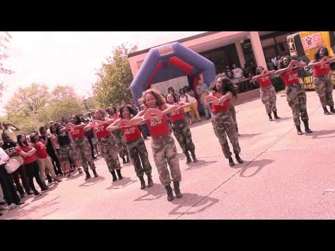 "Alpha Tau Chapter of Delta Sigma Theta ""Yard Show"" SPRING 2013"