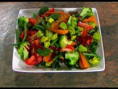 Steamed Vegetable Salad Preview