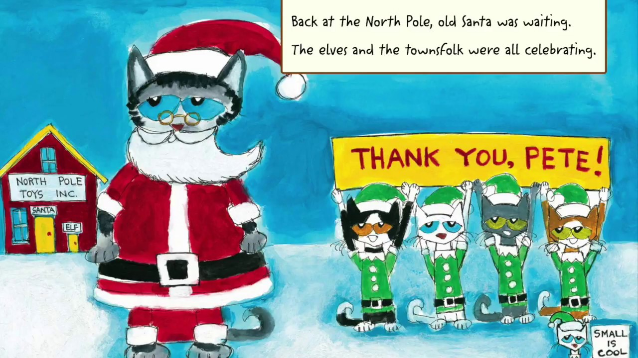 Pete The Cat Saves Christmas.Let Tino Read It For You Pete The Cat Saves Christmas