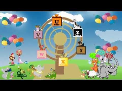Abc alfabeto infantil anima o para crian as youtube - Perchas infantiles de pared ...
