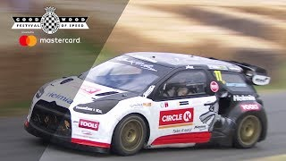 Oliver Solberg's wild WRX run nearly ends in disaster