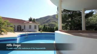 Villa Dünya - Akkaya'da doğa içerisinde kiralık tatil villası - villasepeti.com
