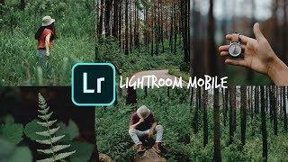 สอนแต่งรูปจากมือถือ โทนป่า - lightroom mobile screenshot 4