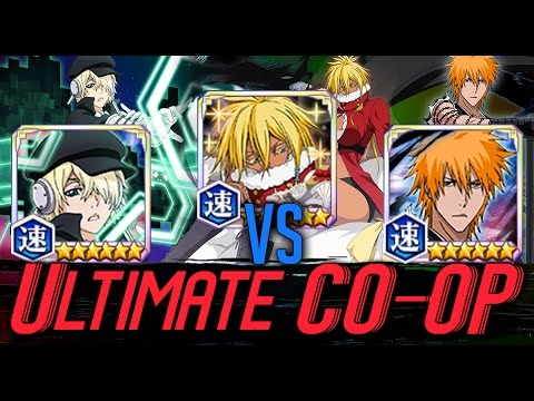 Bleach Brave Souls - NEW Extreme CO-OP With Yukio, Mugetsu, And Halibel