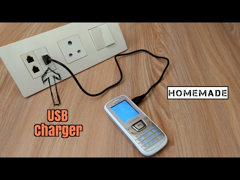 How to Make a USB Charger On Electric Board - Homemade
