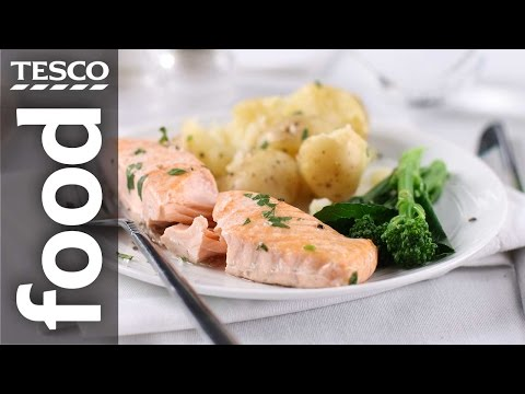 How To Cook Salmon In A Sandwich Bag | Tesco Food