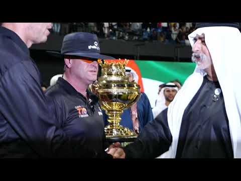 His Excellency Sheikh Nahayan Mabarak Al Nahayan @ T10 League Season 2