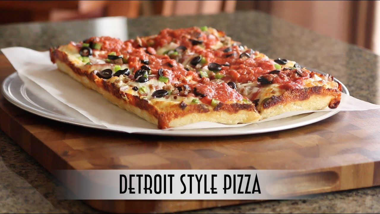 Detroit Style Pizza | Poolish Method