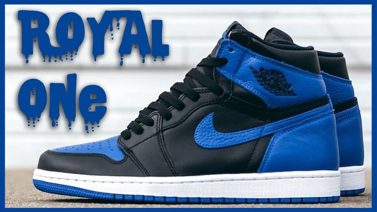 Air Jordan 1 Chèque Bleu Royal Legit