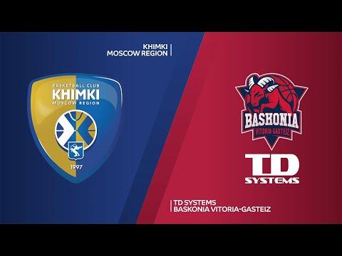 Khimki Moscow Region - TD System Baskonia Vitoria-Gasteiz Highlights | EuroLeague, RS Round 25