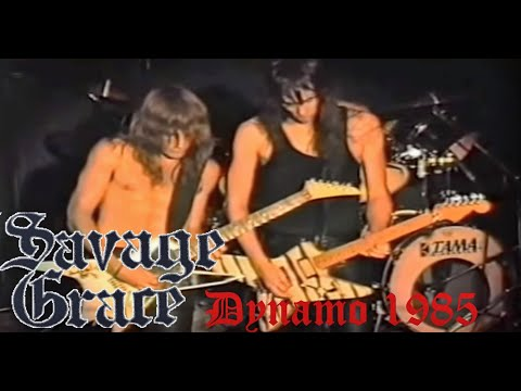 Savage Grace - Live in Dynamo 1985 (FULL CONCERT) streaming vf
