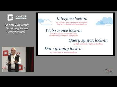 OpenStack Silicon Valley 2015 - Web Services and Microservices: The Effect on Vendor Lock In