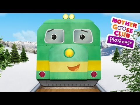Freight Train | Mother Goose Club Playhouse Kids Song