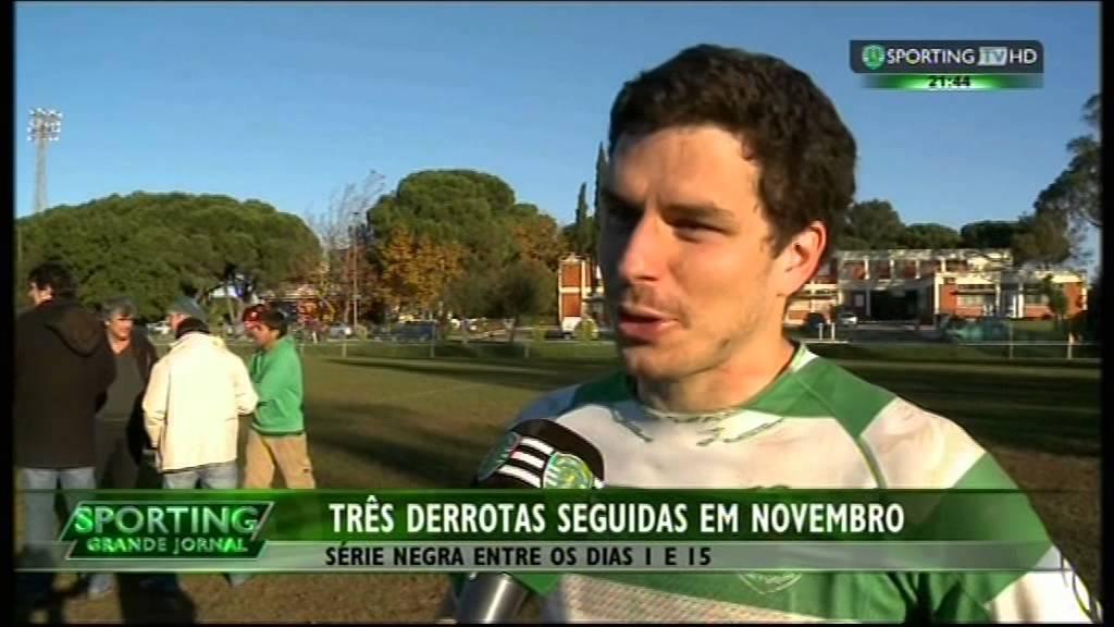 Rugby :: Sporting - Balanço da 1ª Volta de 2014/2015