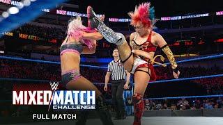FULL MATCH- Braun Strowman & Alexa Bliss vs. Miz & Asuka: WWE Mixed Match Challenge, March 21, 2018