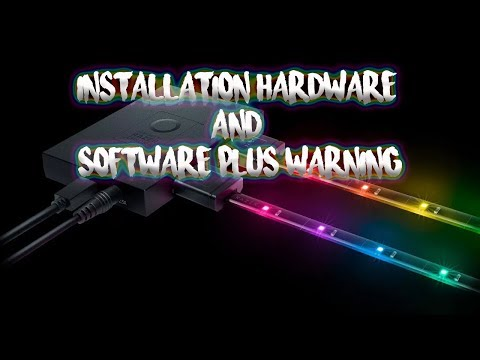 Razer Hardware Development Kit - Hardware and Software installing - plus a WARNING!!