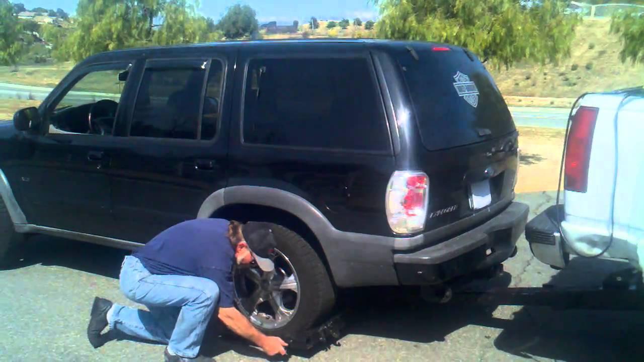 Manual Repo Wheel Lift