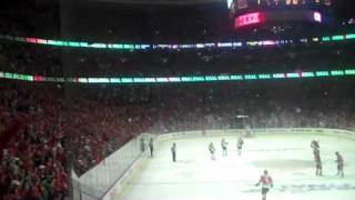 Chicago Blackhawks HORN & GOAL song - GAME 1 Stanley Cup Finals