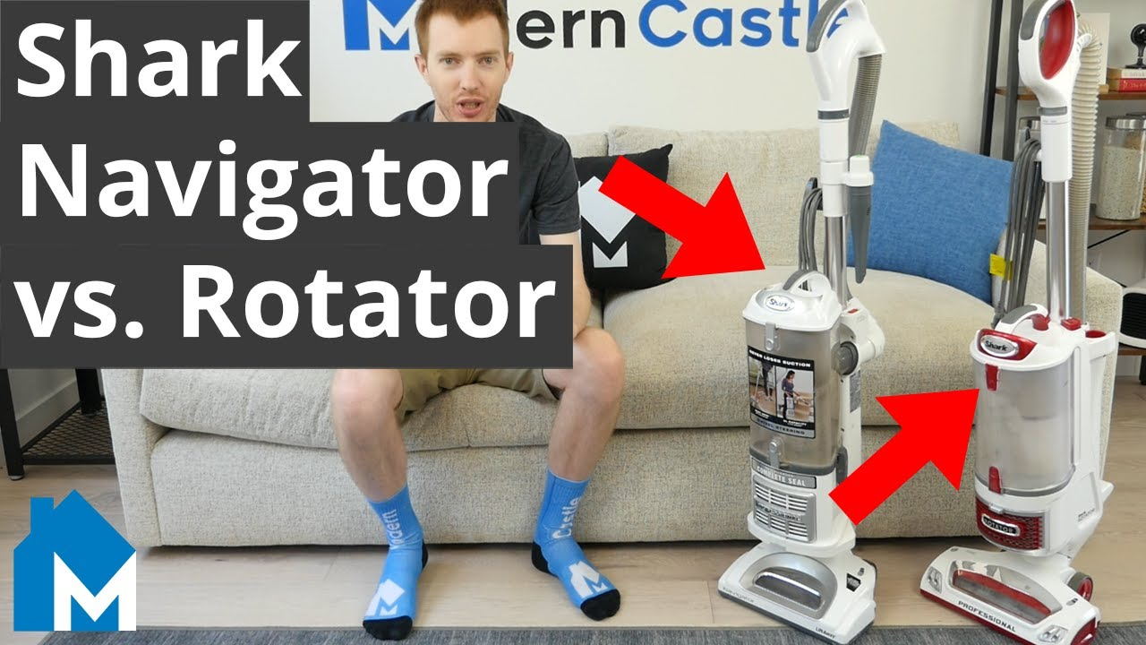 🦈 Shark Navigator vs. Rotator — Side-by-Side Comparison With Objective Data & Tests