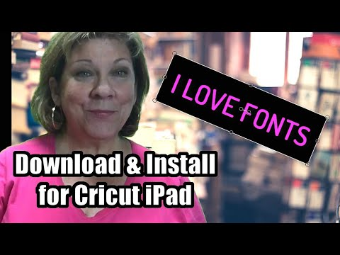 Monogram Fonts For IPad - How To Download And Install