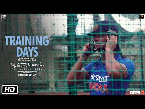 M.S.Dhoni - The Untold Story | Training...