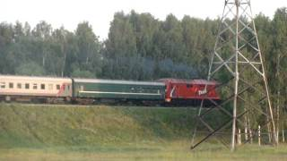 ТЭП70БС-052 с пасс поездом 673 Кинешма - Москва