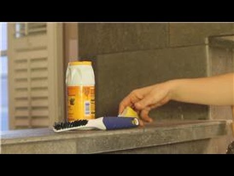kitchen cleaning : how to clean kitchen counter grout - youtube