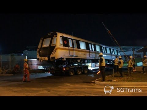 CT251 Delivery to Mandai Depot