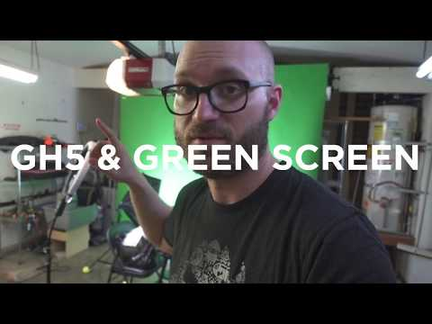 Testing The Best GH5 Settings for Green Screen