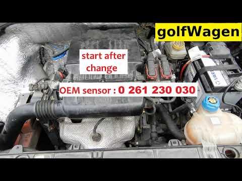 Fiat cold start problem change MAP sensor P0105 fault code