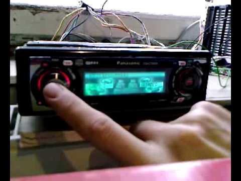 Тестовое видео Panasonic CQ-