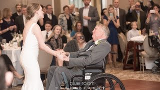 Bride Choreographs Incredible Dance With Terminally Ill Dad