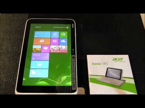 Acer Iconia W3-810 Review: Part I