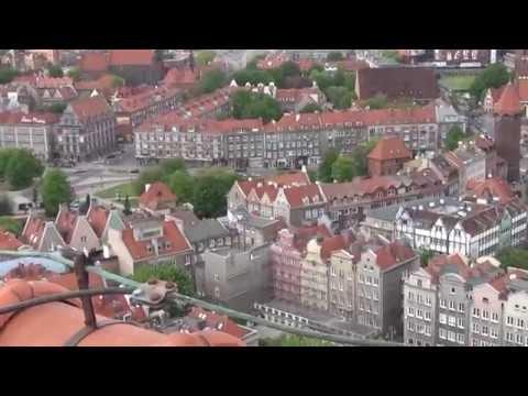 Widok Z Wieży Mariackiej Kościoła N.M.P W Gdańsku