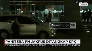 Panitera PN Jakpus Ditangkap KPK