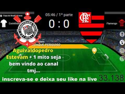 Corinthians x Flamengo AO VIVO 15/05/2019 Copa do Brasil