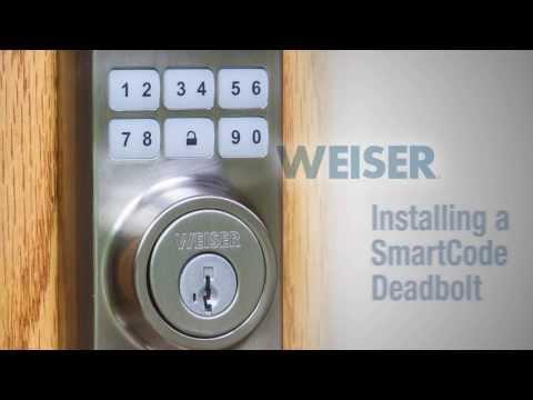 Weiser - Smartcode Installation