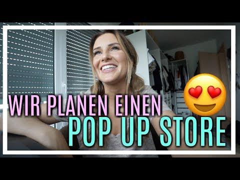 POP UP STORE PLANUNG! 😱| 16.05.2018 | Daily Maren & Tobi
