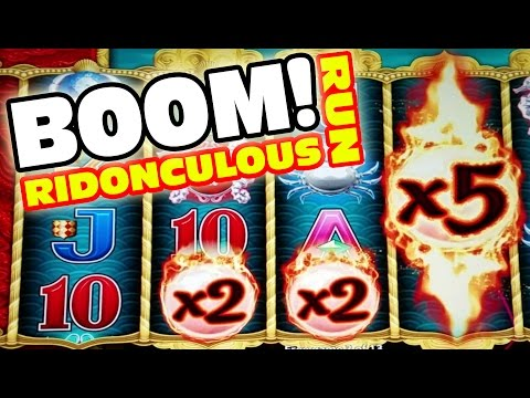 WINNING A PAYCHECK IN 2 HOURS ★ CHASING JACKPOTS ★ RIDONCULOUS RUN