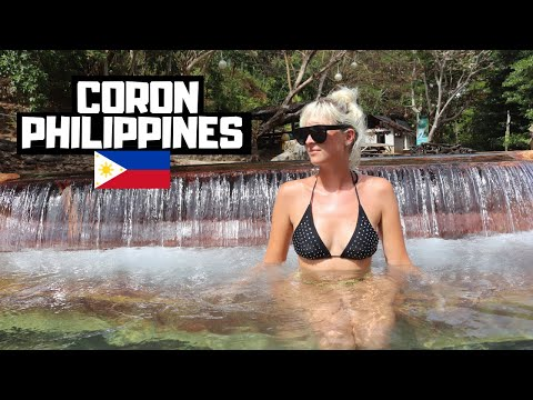 Foreigners FIRST Time in CORON, Philippines!! Things got HOT and STEAMY!