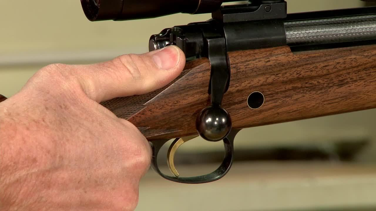 Gunsmithing How To Install A Three Position Safety On A