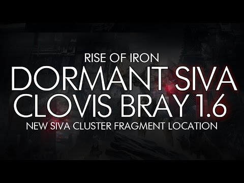 Destiny - Dormant SIVA: Clovis Bray 1.6 Location - Rise Of Iron DLC Dormant SIVA Cluster Location